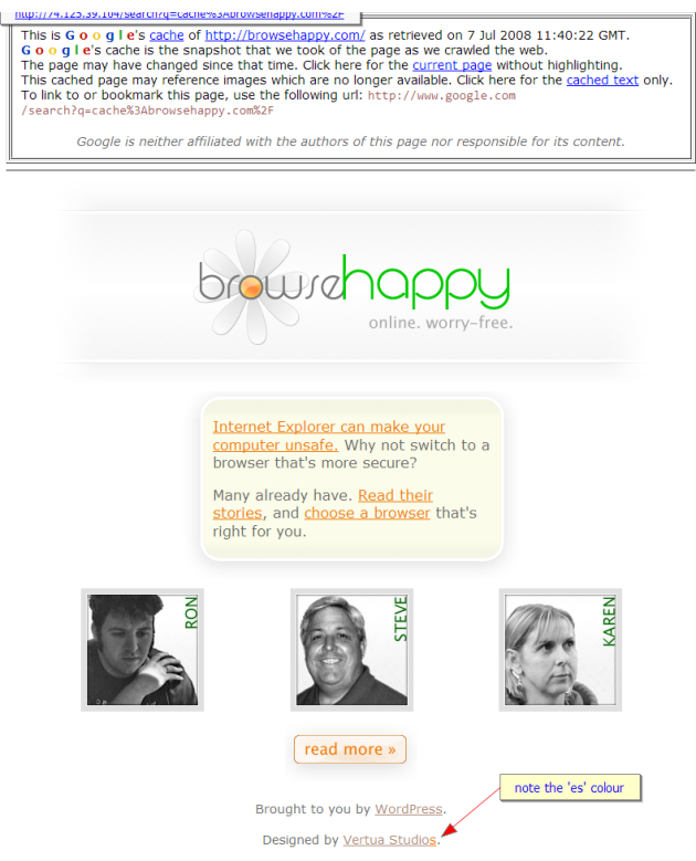 Browse Happy Online Worry-free